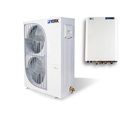 约克超低温全变频热泵机组YVAS