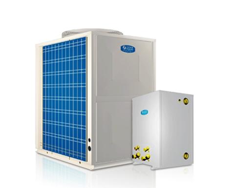 超低温强热型循环加热空气源热泵热水机(分体机)KFXRS-38ⅡB/2-a(F)